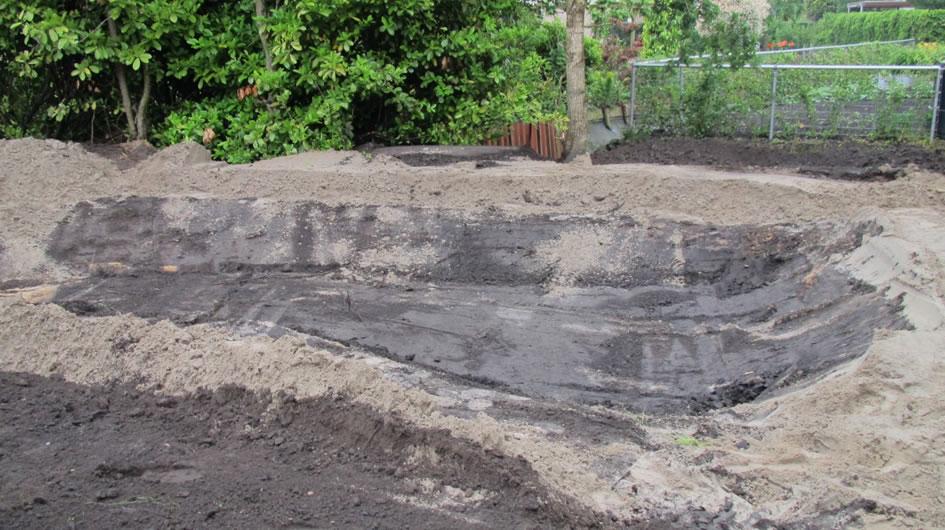 Verhoogde vijver aanleggen simple breng op de plateaus for Natuurvijver aanleggen